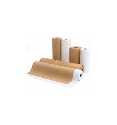 Rollos de Papel kraft parafinado antiox 110 cm. 90 g/m²