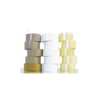 Cinta adhesiva PVC blanco 50x132