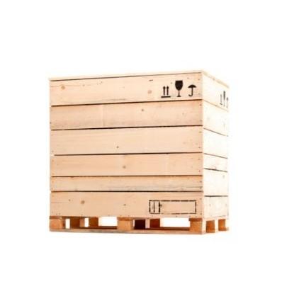 Caja de madera 1126x1126x550
