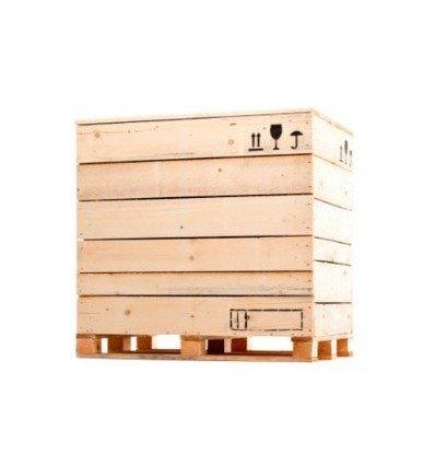Caja de madera 1126x996x950