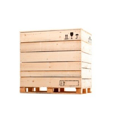 Caja de madera 2236x996x740