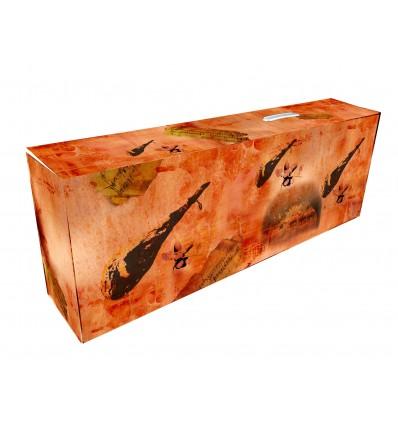 Caja para jamones Modelo montanera. 860x140x320