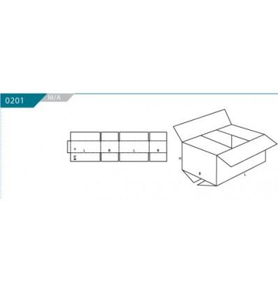 Caja OUTLET 365x180x100 Blanco S