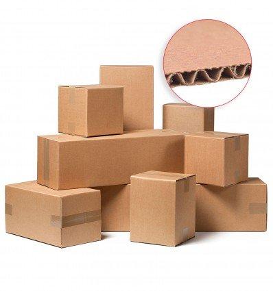 Caja de cartón de canal simple