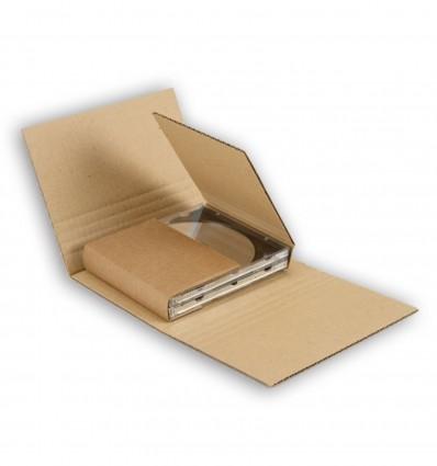 Caja para enviar dvd ( de 1 a 5 dvd )