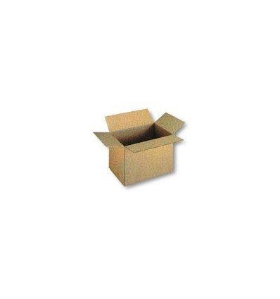 Caja plegable de cartón sencillo 200x200x150