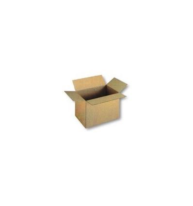Caja plegable de cartón sencillo 250x250x100
