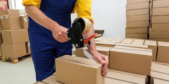 cajas de cartón como embalaje