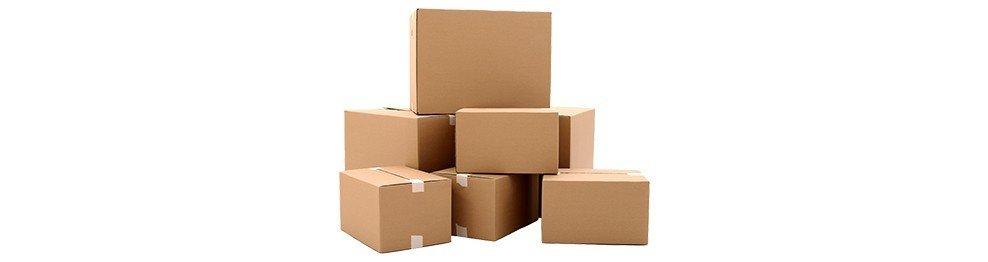 Cajas de cartón y contenedores