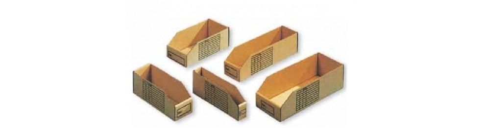 Cajas estanterías