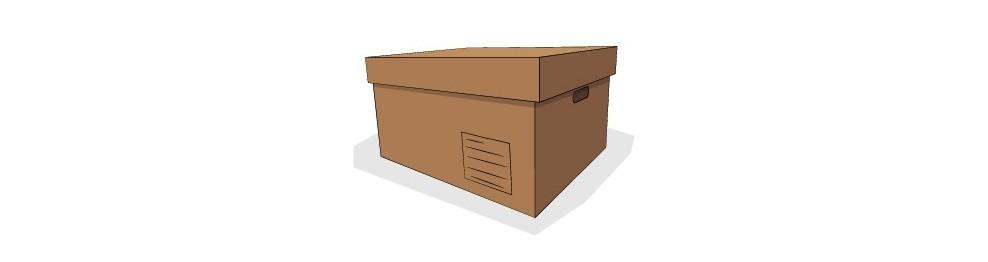 Cajas para archivar