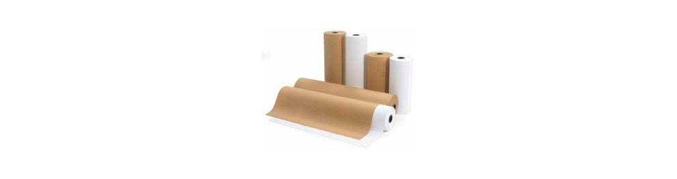 Rollos de papel kraft y otros