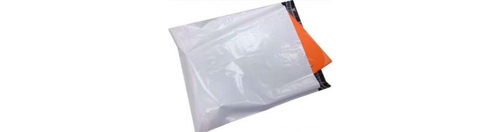 Sobre de plástico opaco para envíos