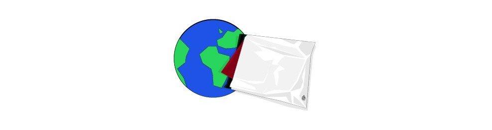 Sobres Opacos de Plástico COEX
