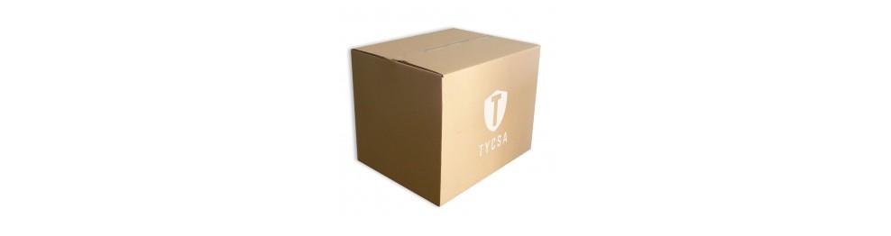 cajas grandes de cartón