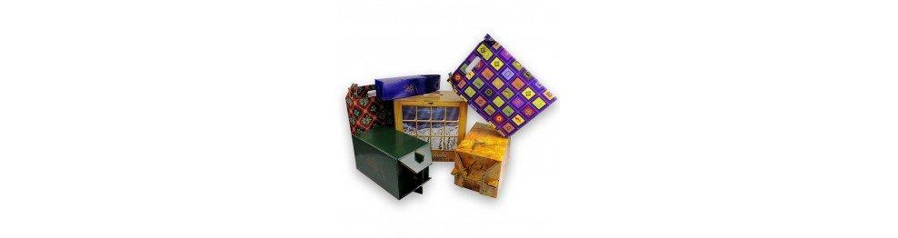 Cajas para regalos y lotes de navidad