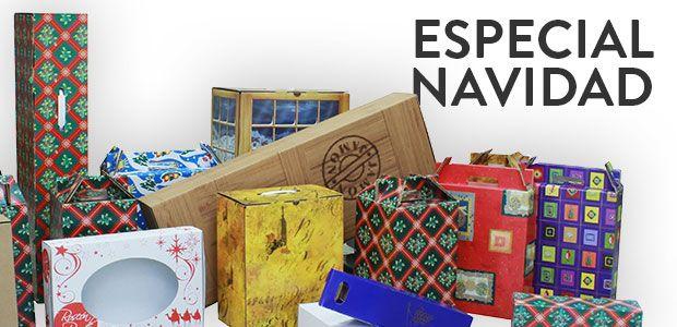 cajas para navidad